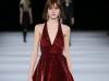 Красное новогоднее платье 2015 фото, Saint Laurent