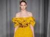 Длинное желтое платье на Новый год 2015, Marchesa