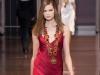 Красное новогоднее платье 2015 фото, Versace