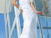 Белое платье на выпускной 2012