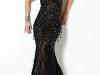Черное платье на выпускной 2012