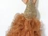 Выпускные платья 2012 с вырезом на спине