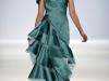 Вечернее платье с воланами на выпускной 2013 от Carlos Miele