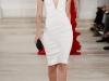 Белое короткое выпускное платье 2013 в ретро стиле от Ralph Lauren