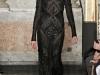 Emilio Pucci, черное кружевное платье на осень 2012