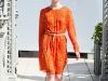 Оранжевые платья от Киры Пластининой осень-зима 2012-2013