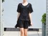 Черное платье от Киры Пластининой осень-зима 2012-2013