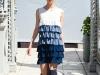 Платье с воланами от Киры Пластининой осень-зима 2012-2013 фото