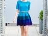Модное латье от Киры Пластининой осень-зима 2012-2013 фото