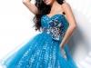 Пышное платье с бантом