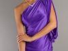 Платье с одним рукавом