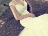Свадебные платья с глубоким декольте от Alicia Cruz