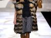 Платья с мехом  фото, Fendi