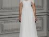 Свадебное платье с открытыми плечами от Monique Lhuillier