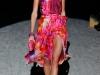 Модное вечернее платье с принтом от Salvatore Ferragama