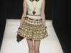 Короткое платье с черным воротничком от Moschino