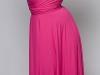 Яркое длинное платье-трансформер от Marilyn
