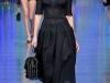 Черное платье в бельевом стиле от Dolce & Gabbana