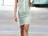 Короткое летнее платье в полоску от Alexis Mabille