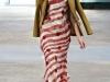 Длинное платье в полоску от Alexis Mabille