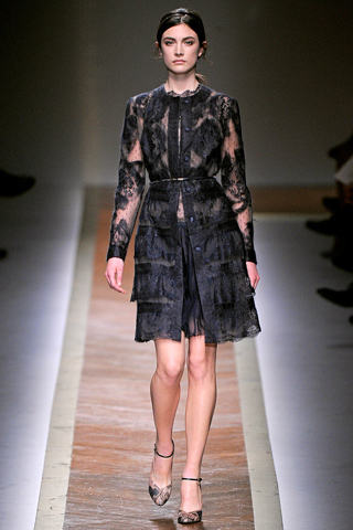 Сексуальные платья осень зима 2011 2012