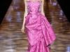 Розовое платье Badgley Mischka