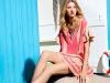 Розовое платье Christian Dior