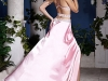 розовое вечернее платье