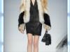 С чем носить черное платье зимой, Philipp Plein