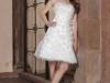 Короткие свадебные платья 2012