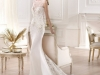 Свадебное платье годе со шлейфом 2014