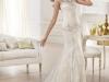Свадебное платье со шлейфом 2014