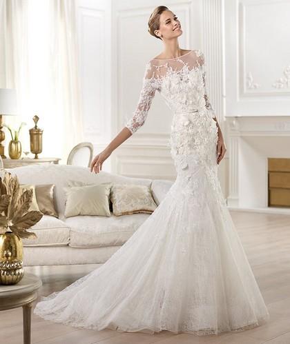 f3ac3d600842ec6 Свадебные платья 2014 года: богатый выбор потрясающих нарядов ...