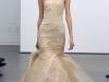 Бежевое свадебное платье Веры Вонг 2012