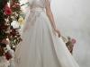 Свадебное платье Папилио 2012 с кружевом и перьями