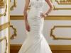 Свадебные платья с удлиненным корсетом