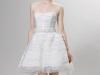 Короткие свадебные платья с корсетом