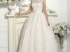 Свадебное платье с кружевным верхом фото