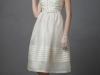 Короткое свадебное платье с воротником фото