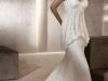 Свадебные платья с воротником