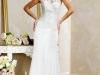 Свадебные платья с кружевным воротником фото