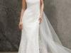 Свадебные платья с воротником фото