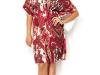 Платья-туники трикотажные на полных