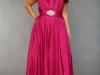 Красное вечернее платье для полных