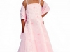 Вечернее платье для девочки розовое