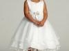 Вечернее платье для девочки белое