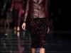 Кожаная куртка-пиджак к платью-футляр, коллекция Hugo Boss