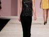 Длинное черное вечернее платье весна 2013 от Ermanno Scervino