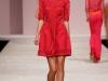 Короткое весеннее платье 2013 розового цвета от Ermanno Scervino
