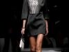 Весеннее платье-мини черно-белое, коллекция Prada 2013